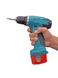 Wireless screw driver Stock Images