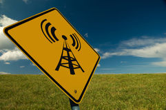 Wireless Sign Royalty Free Stock Photo