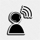 Wireless signal design. Illustration eps10 graphic Stock Photo