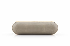 Wireless speaker for mobile phone, Bluetooth Speaker for smartph Stock Photo