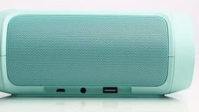 Wireless Speaker stock footage