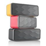 Wireless speakers Stock Images