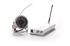 Wireless surveillance camera Stock Photography