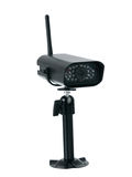Wireless surveillance camera Stock Image