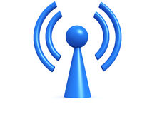 Wireless Symbol Stock Image