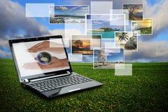 Wireless technology Royalty Free Stock Image