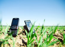 Wireless technology Royalty Free Stock Images