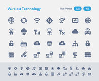 Wireless Technology - Ants Icons Royalty Free Stock Images