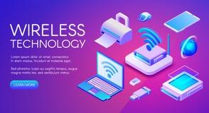 Wireless technology devices vector illustration vector illustration
