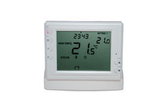 Wireless thermostat  for ambient temperature control Royalty Free Stock Image