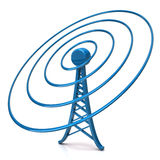 Wireless tower royalty free illustration