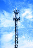 Wireless tower Stock Photo