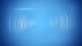 Wireless transition abstract blue technology background Royalty Free Stock Photo