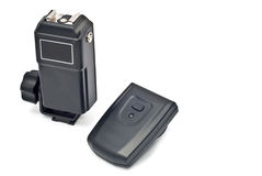 Wireless trigger and receiver Stock Photography