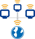 Wireless (vector) Stock Photography