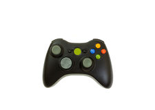 Wireless video game controller. On white stock images