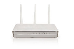 Wireless Wi-Fi router Royalty Free Stock Image