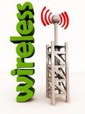 Wireless wi-fi signal Stock Image