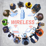 Wireless Wifi Router Digital Connection Concept Royalty Free Stock Image
