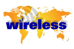 Wireless or wire less communication Royalty Free Stock Photos