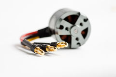 Wires of electric motor Royalty Free Stock Photography