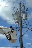 Wires Everywhere Stock Photo