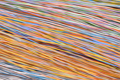 Wires in the global telecommunications networks Royalty Free Stock Images