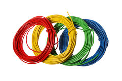 Wires - horizontal Royalty Free Stock Photos