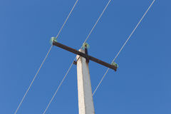 Wires on power line Stock Image