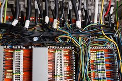 Wiring Royalty Free Stock Photography