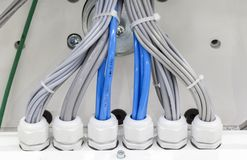 Wiring harness royalty free stock images