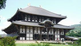 Wirklich sehr großer japanischer Tempel Lizenzfreies Stockbild