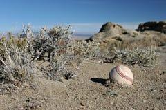 Wirklich verlorener Baseball lizenzfreie stockfotografie