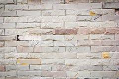 Wirkliche alte Backsteinmauerbeschaffenheit und -hintergrund Lizenzfreie Stockfotografie