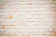 Wirkliche alte Backsteinmauerbeschaffenheit und -hintergrund Lizenzfreies Stockfoto