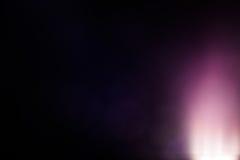 Wirkliche Blendenfleck-Atelieraufnahme einfach, als Filter über Fotos hinzuzufügen Lizenzfreies Stockbild