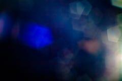 Wirkliche Blendenfleck-Atelieraufnahme einfach, als Filter über Fotos hinzuzufügen Lizenzfreie Stockbilder