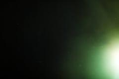 Wirkliche Blendenfleck-Atelieraufnahme einfach, als Filter über Fotos hinzuzufügen Stockbild