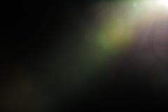 Wirkliche Blendenfleck-Atelieraufnahme einfach, als Filter über Fotos hinzuzufügen Lizenzfreie Stockfotos