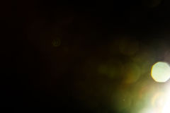 Wirkliche Blendenfleck-Atelieraufnahme einfach, als Filter über Fotos hinzuzufügen Stockfotografie