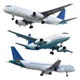 Wirkliche Düsenflugzeuge lizenzfreies stockbild