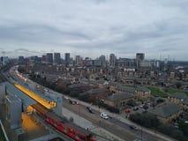 Wirkliche London-Industrien lizenzfreie stockfotografie