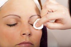 Wirkliche Schönheits-und Kosmetik-Behandlung - Reihe Lizenzfreie Stockfotos