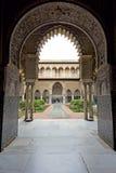 Wirklicher Alcazar in Sevilla, Andalusien Stockbilder