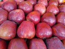 wirklicher Apfelhintergrund lizenzfreie stockfotografie