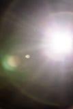 Wirklicher Blendenfleck und Dusty Atmosphere Stockbild