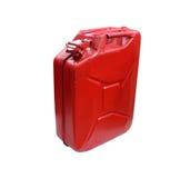 Wirklicher Brennstoffbehälter lokalisiert auf Weiß Lizenzfreie Stockfotos