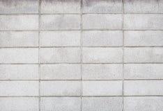 Wirkliches Foto der nahtlosen Blockwand mit Muster Liniengebrauch als backg Stockbild