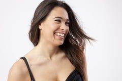 Wirkliches schönes junges Mädchen Lizenzfreies Stockfoto