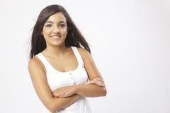 Wirkliches schönes junges Mädchen Lizenzfreie Stockfotos